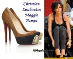 In Victoria Beckham's Closet - Christian Louboutin Maggie Pumps