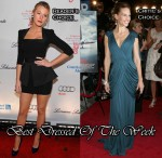Best Dressed Of The Week - Blake Lively In Victoria Beckham Collection & Hilary Swank In Vionnet