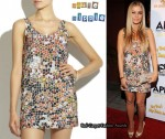 In Carmen Electra's Closet - Haute Hippie Sequin Mosiac Tank Dress