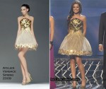 Runway To X Factor Week 1 - Cheryl Cole In Atelier Versace