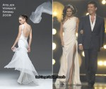 Runway To X Factor Week 3 - Cheryl Cole In Atelier Versace & Julien Macdonald