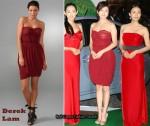 In Ryoko Hirosue's Closet - Derek Lam Strapless Dress