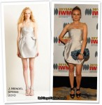 Runway To Courage In Journalism Awards - Diane Kruger In J.Mendel