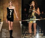 Runway To Club LIV Miami - Jennifer Lopez In Herve Leger