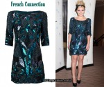 In Katherine Jenkins' Closet - French Connection Sequin Dress