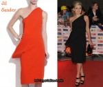 In Katherine Jenkins' Closet - Jil Sander Sculpted Dress