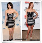 Who Wore Nuj Novakhett Better? Kim Kardashian or Ashlee Simpson