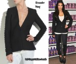 In Kim Kardashian's Closet - Alexander Wang Tailored Metal-Stud Jacket