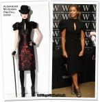 Runway To Book Signing - Leona Lewis In Alexander McQueen