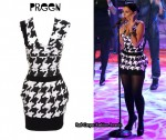 In Nelly Furtado's Closet - Preen Hound Power Dress