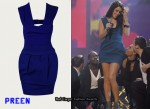 In Lucie Jones' Closet - Preen Power Dress