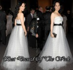 Best Dressed Of The Week - Lucy Liu In Monique Lhuillier
