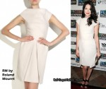 In Michelle Monaghan's Closet - RM by Roland Mouret Traverse Wool Shift Dress