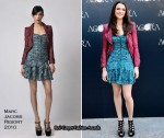 "Runway To ""Agora"" Madrid Photocall - Rachel Weisz In Marc Jacobs"