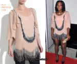 In Serena Williams' Closet - 3.1 Phillip Lim Beaded Silk Dress