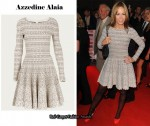 In Tara Palmer-Tomkinson's Closet - Azzedine Alaia Dress