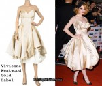 In Nicole Roberts' Closet - Vivienne Westwood Gold Label Strapless Gown