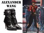In Cheryl Cole's Closet - Alexander Wang Combat Boots