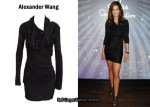 In Cindy Crawford's Closet - Alexander Wang Hooded Goddess Dress