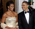 Michelle Obama Wears Naeem Khan To Meet The Indian PM