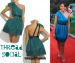 In Anika Noni Rose's Closet - Thread Social Asymmetrical Dress