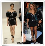 Runway To 2009 MTV EMAs - Beyonce Knowles In David Koma