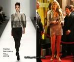 Runway To Gossip Girl - Blake Lively In Farah Angsana & Nanette Lepore