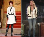 "Runway To ""Late Night With Jimmy Fallon"" - Cameron Diaz In Chanel"