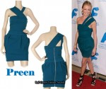 In Cat Deeley's Closet - Preen Matt Lightening Dress & Givenchy Heels