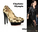 In Cheryl Cole's Closet - Charlotte Olympia Leopard Print Heels
