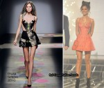 Runway To X Factor Week 7 - Cheryl Cole In Giles & Jean Pierre Braganza