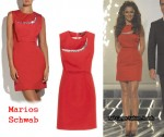 In Cheryl Cole's Closet - Marios Schwab Embellished Dress