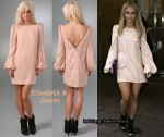 In Hayden Panettiere's Closet - Elizabeth & James Pink Dress