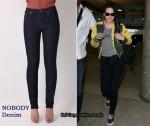 In Kristen Stewart's Closet - Nobody Denim Jeans
