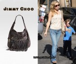 In Kate Hudson's Closet - Jimmy Choo Diane Kid Fringe Hobo