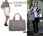 In Nicky Hilton's Closet - Alexander Wang Coco Duffel