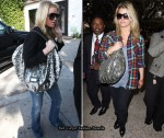 Jessica Simpson Loves Her Valentino 360 Hobo