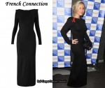 In Heidi Range's Closet - French Connection Long Sleeved Dress