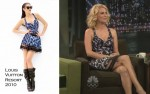 "Runway To ""Late Night With Jimmy Fallon"" - January Jones In Louis Vuitton"