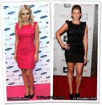 Who Wore French Connection Better? Katherine Jenkins or Lauren Bosworth
