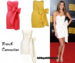 In Kayla Ewell's Closet - French Connection Strapless Bow Dress
