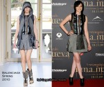 "Runway To ""Twilight Saga: New Moon"" Fan Event - Kristen Stewart In Balenciaga"