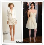 "Runway To ""The Twilight Saga: New Moon"" Paris Photocall - Kristen Stewart In J. Mendel"