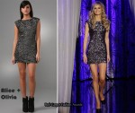 In Marisa Miller's Closet - Alice + Olivia Sequin Dress