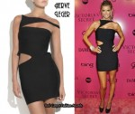 In Marisa Miller's Closet - Herve Leger Cut-Out Dress