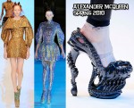 "Runway To ""Bad Romance"" Video - Lady GaGa In Alexander McQueen"