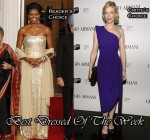 Best Dressed Of The Week - Michelle Obama In Naeem Khan & Cate Blanchett In Armani Privé