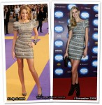 Who Wore Herve Leger Better? Miley Cyrus or Julia Stegner