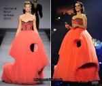 Runway To 2009 MTV EMAs Stage - Katy Perry In Viktor & Rolf, Georges Chakra and Marchesa
