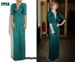 In Nicola Roberts Closet - Issa Silk Jersey Gown